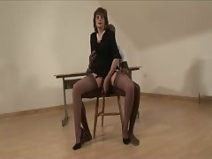 Masturbatrix Lady Sonia bondage