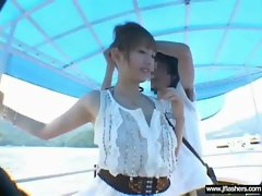 Cute Asian Girl Flash Body And Get Sex clip-14