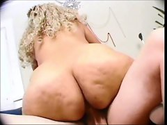 Spanish Grandma fucked by young whiteboy