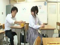 Asian In School Uniform Get Hard Sex video-32