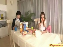 Asian In School Uniform Get Hard Sex video-09