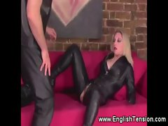 Blonde mistress is a strict dominant