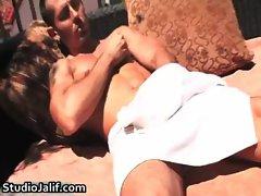 Louie Pitt stroking his nice gay cock gays