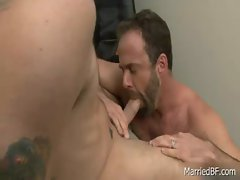 Tattooed hunk gets deep anal fuck 6 gay sex