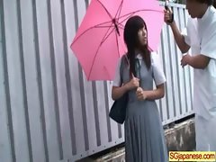 Asian In School Uniform Get Hard Sex video-31