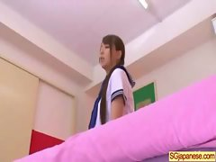 Asian In School Uniform Get Hard Sex video-15