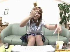 Asian In School Uniform Get Hard Sex video-03