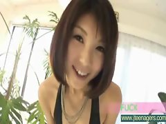 Hot Sexy Asian Girl Get Fucked Hard video-16