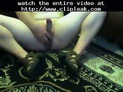 Dildo Fuck In Sandals Heels Anal Cum Webcam
