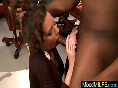 Sexy Busty Milf Like Big Black Cock video-34