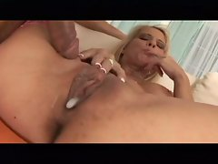 Ebony Milf  Janet Mason fucked deeply in her wet fleshy cunt