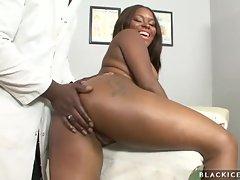 Candice Nicole bubble butt ebony get ass finger hard