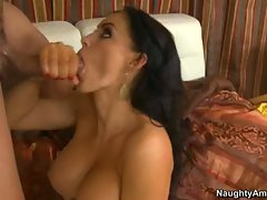 Jenna Presley let a hot goo release in her mouth