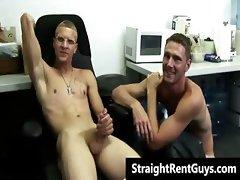 Hetero hunks go gay for cold hard cash part3