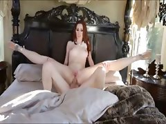 Redhead Ballerina Loves Cock Up The Ass