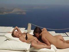 sapphic lovers enjoying unbelievable sex
