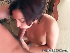 Sweet short haired Latina gets her wet part6
