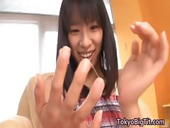 Hana Haruna real asian model is a juggs part2