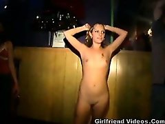 Nude Teens Dance At The Club