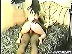White Wife Enjoys Black Lover While Husband Watch