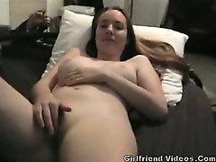 GF Rubs Clit Until Orgasm
