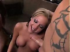 Eva Angelina and her friend tease & bang two cocks