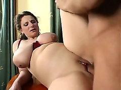 German mature with big boobies