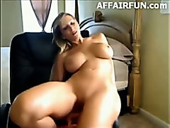 Busty MILF On Webcam