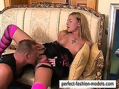 Fuck the beauty fashion model