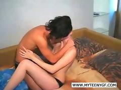 Horny couple doing the mambo jumbo