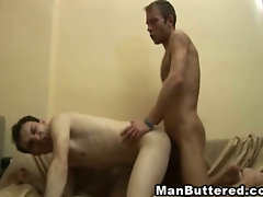 Bareback Gay Shot With Jizz