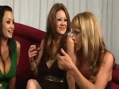 spankwire american milf 2 - lesbian orgy w lisa ann julia ann raquel devine shayla laveaux austin ki
