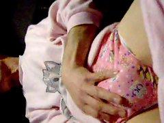little girl pj &amp,panty wank