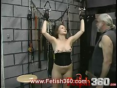 Joleen loves nipple torment and whipping