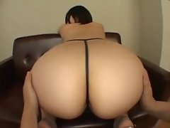 Thick asian booty