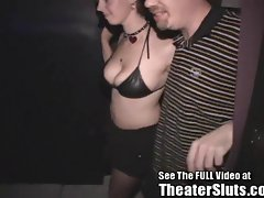 Missy Gets Ass Tulip &amp, Creampie From Dirty D In Porn Theater
