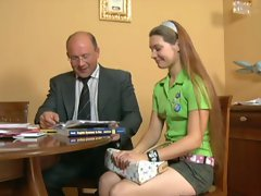 YOUNG TEEN GIRL &amp, OLD MAN 2