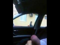 rus Public Masturb CAR CUM GIRL 51 - NV