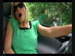 German amateur in car
