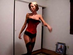 Hot Wife Dancing For Webcam
