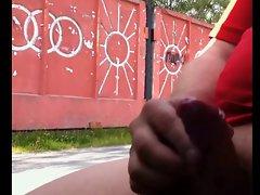 Rus Public Masturb CAR Flash Watching GIRLS 55 - NV