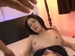 Kyoka - Skinny  Asian Girl Uncensored Anal Fuck