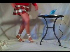 Legs,miniskirt &amp, heels