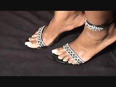 ebony feet femdom