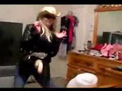 Strap-on dance #1