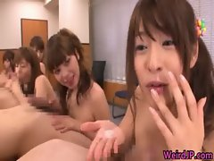 Horny japanese girls in extreme hardcore