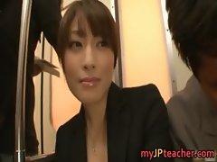 Karen Kisaragi Asian teacher