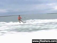 Asian Flashing And Banging Hard video-30