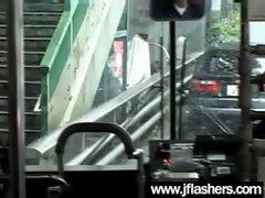 Asian Flashing And Banging Hard video-35
