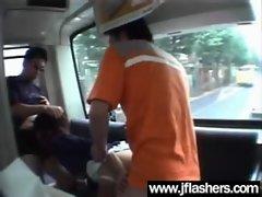 Asian Flashing And Banging Hard video-37